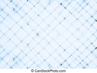 Bluish background covered are intersecting bluish thin lines...