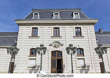 Former stable and carriage house, Festetics Castle,...