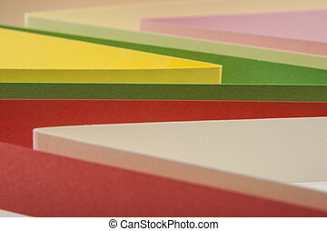 background of colored paper
