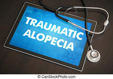 Traumatic alopecia (cutaneous disease) diagnosis medical...