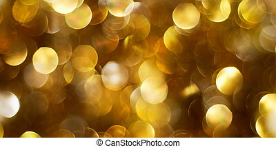 Dark golden lights background - Dark golden abstract...