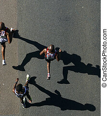 Comrades Marathon 2010 - DURBAN, SOUTH AFRICA - 30 MAY 2010:...