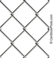 Chain link fence seamless pattern. Industrial style wallpaper