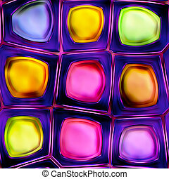 colorful abstract seamless texture - colorful abstraction...