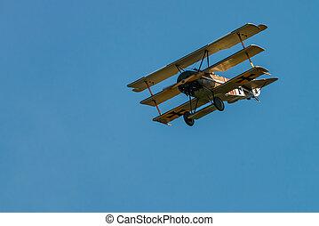 Fokker Dr-I (Reproduction) - The Aerodrome Air Show Team...