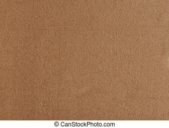 Pattern of brown flat carton background. Empty brown paper...