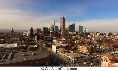 East Side Denver Colorado Capital City Downtown City Skyline...