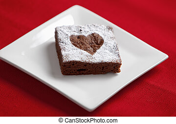 brownie,  chocolate