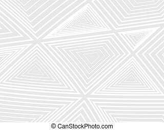 Concentration of white geometric shapes on a gray background