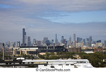 Chicago seen from South Side