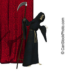 Grim Reaper - Final Curtain - The Grim Reaper beckons you to...