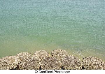 Sea at  Si-Chang island