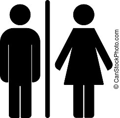 WC toilet icon vector - Toilet icon great for any use....