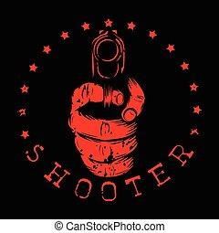 rifle pistol