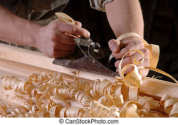 working hands - Carpenter