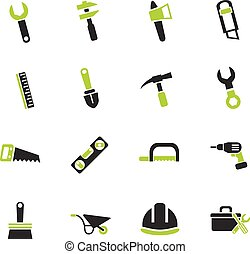 work tools icon set - work tools web icons for user...