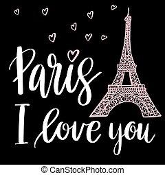 Paryż, ty, miłość