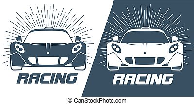 sports cars Silhouette