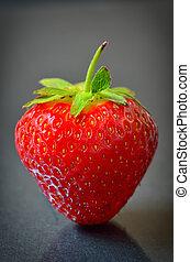 Strawberry fruit isolated