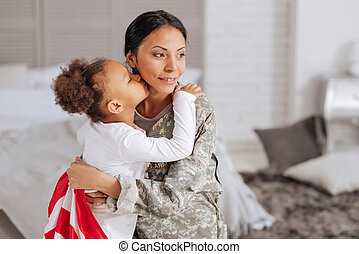 Brave woman delighted spending time with her family - Can...
