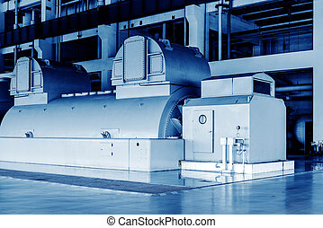 Thermal power machine - Thermal power plants, large-scale...