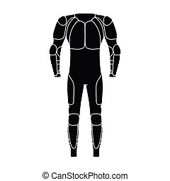 Outfitting for cyclists. Full body protection against...