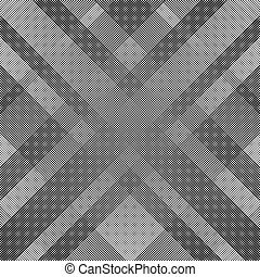 Abstract monochrome pattern with dynamic irregular lines....