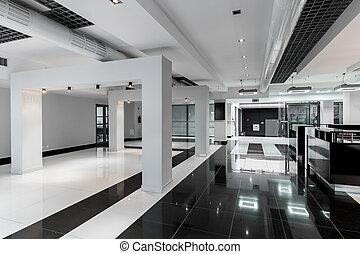 Geometric and minimalist corridor - Geometric and minimalist...