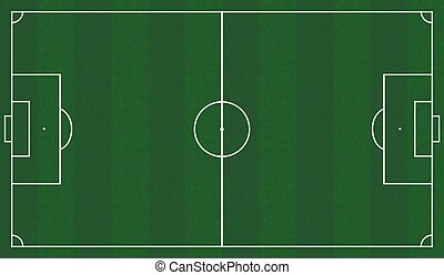 Football field scheme - Green Football field scheme....