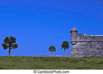 Fortress - Fort at Saint Augustine, FL