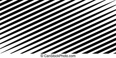 Slanting, oblique geometric pattern. Straight, parallel...