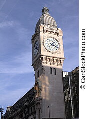 Clock tower - Gare de Lyon - Paris - France