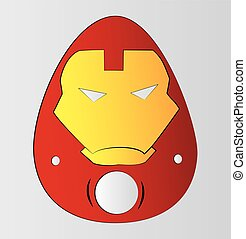 Iron Man - Easter egg themed Iron Man