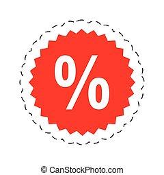 shopping offer discount sticker