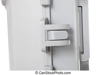 Locking latch - Side latch that locks on a security camera...