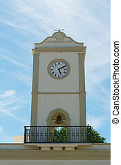 Municipal clock tower