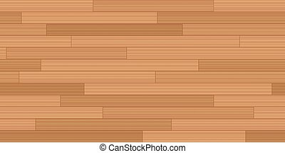 Wood Flooring Woodstrip Parquet Seamless Background - Plank...