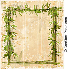 vintage bamboo frame