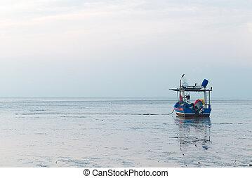 skeppsdocka, Fiske, båt