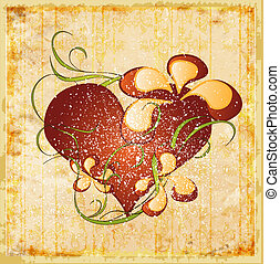 vintage valentines day greeting card