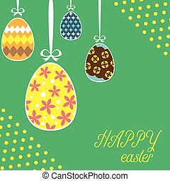hanging eeg easter template in square size - hanging eeg...