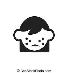skin acne icon