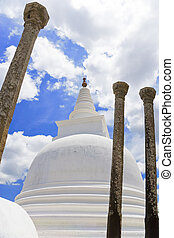 Thuparamaya Temple, Anuradhapura, Sri Lanka - Image of the...