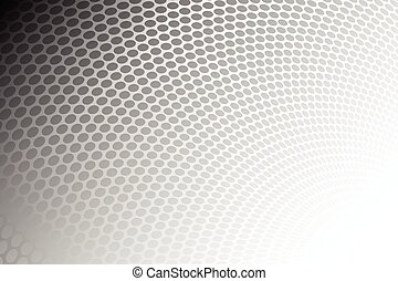 Grey dots creative design abstract background