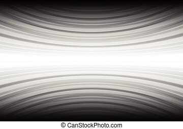 White curve stripe on black background for abstract background concept