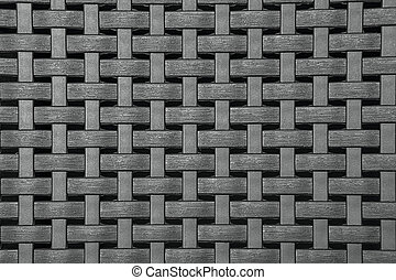 Wicker Texture, Weathered Brown Background Pattern - Gray...