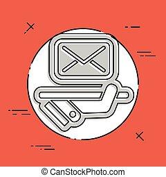 Postal agencies icon