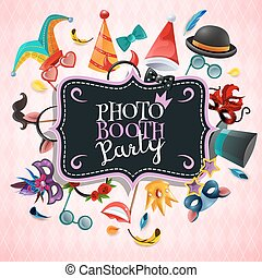 Photo Booth Party Background - Photo booth party background...