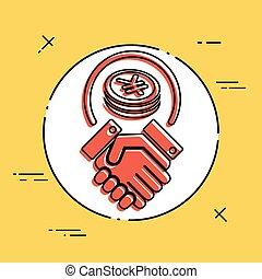 Business agreement - Yen