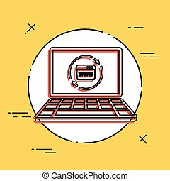 Refresh internet page icon